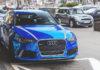 Audi RS6 Blue Chrome